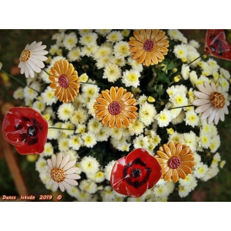 Virágos mező csokor (10 szál)